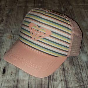 Roxy Sweet Emotions mesh snap back trucker hat